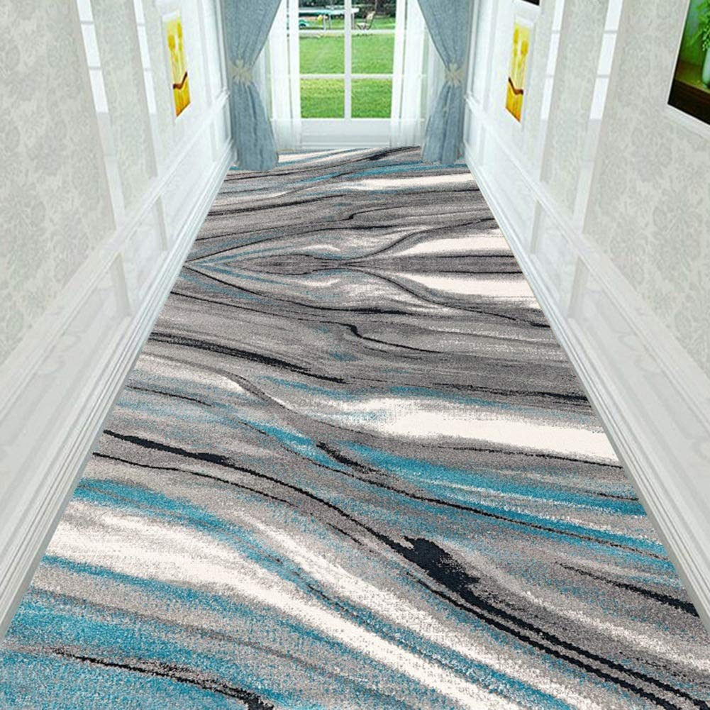 JIAJUAN JIAJUAN JIAJUAN Läufer Teppiche Flur Teppich Rutschfest Pflegeleicht Küche Halle Gang Fußboden Matte, 7mm, 2 Farben, Mehrere Längen, Anpassbare (Farbe   A, größe   0.8x4m) B07KZZQFLC Lufer e8481c