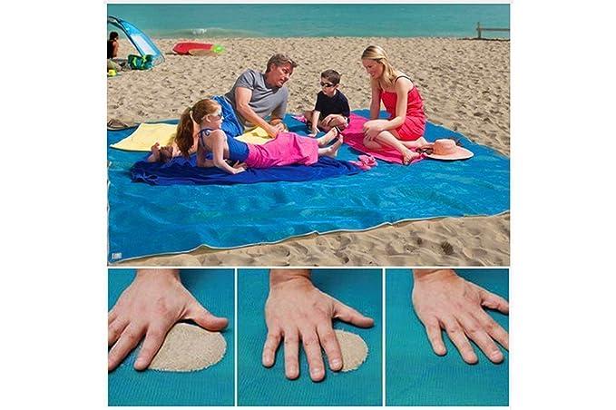 Toalla de playa repelente de arena, ...