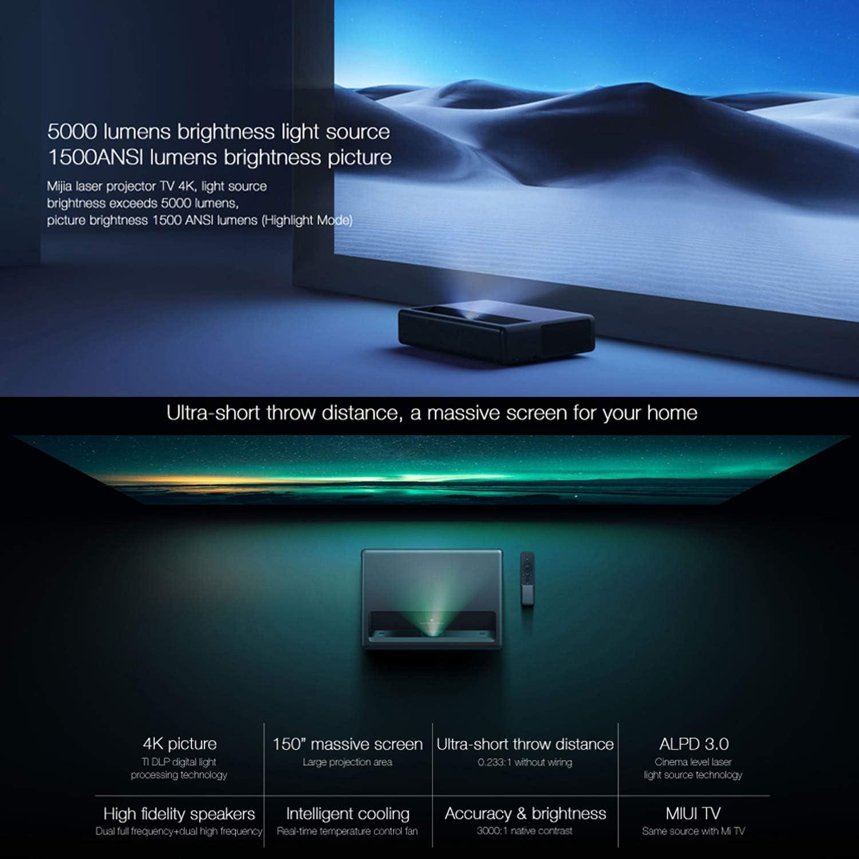 4K Home Projector, LiveTV.Direct Enhanced Lune4K-Pro Native 4K UHD Laser Smart TV Super Short Focus Home Cinema Projector 60W Harman/Kardon Speaker: Amazon.es: Electrónica