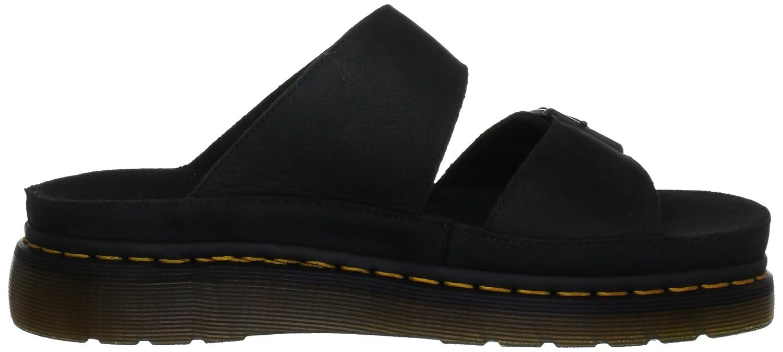 82b55459 Dr. Martens Unisex-Adult Cyprus Black Slide 15062003 10 UK: Amazon.co.uk:  Shoes & Bags