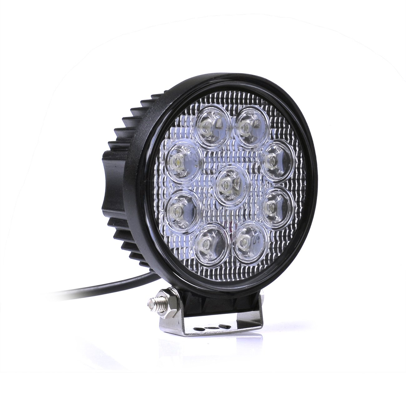 Leetop 4X 48 W 16 LEDs Offroad lampada LED faro da lavoro luce di inondazione Riflettore Luce del lavoro SUV, UTV, atv LED Floodlight 12 - 24V NFW48W