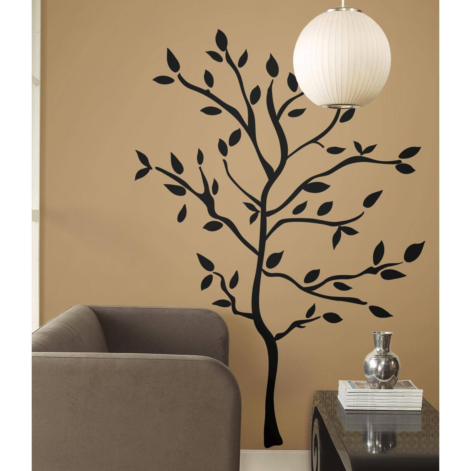 Roommates rmk1317gm tree branches peel stick wall decals wall roommates rmk1317gm tree branches peel stick wall decals wall decor stickers amazon amipublicfo Gallery