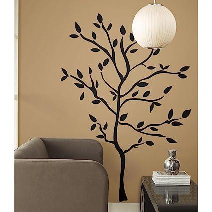 RoomMates RMK1317GM Tree Branches Peel U0026 Stick Wall Decals