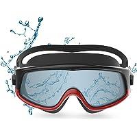 Funní Día Panoramische Visie Zwembril, Geen Lekkende Anti-Fog UV Bescherming Zwemmen Goggles voor Volwassen Mannen…