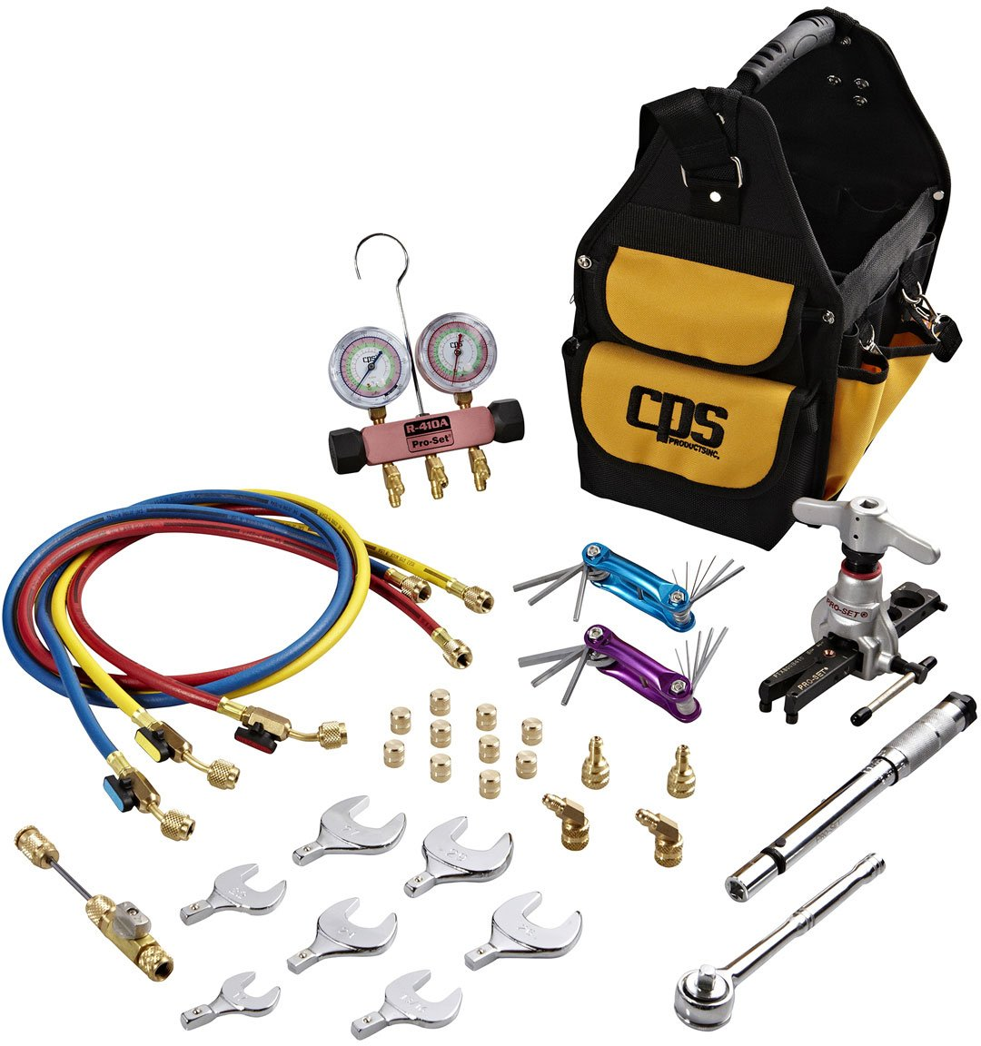 CPS Products Inc. TLB410A UNIVERSAL A/C TOOL BAG by CPS