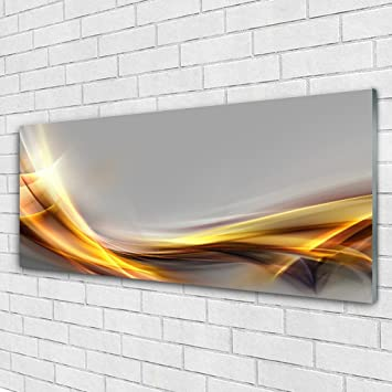Glass Print Wall Art By Tulup 125x50cm Image Printed On