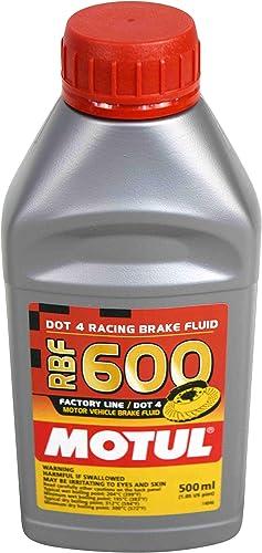 Motul Factory Line Dot-4 100 Percent Synthetic Racing Brake Fluid