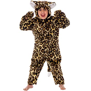 Amazon.com: Leopard Costume for Kids. For children 4-6 Years ...