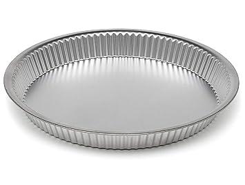 Bandeja para tarta con base suelta, antiadherente, moldes para horno, 28 cm