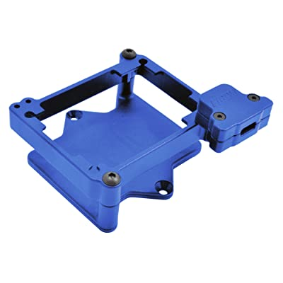 RPM 73765 ESC Cage for The Castle Mamba X ESC, Blue: Toys & Games