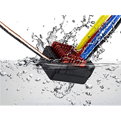 HOBBYWING QUICRUN 880 ESC, Waterproof ESC for Dual Brushed Motors: Toys & Games [5Bkhe0706739]