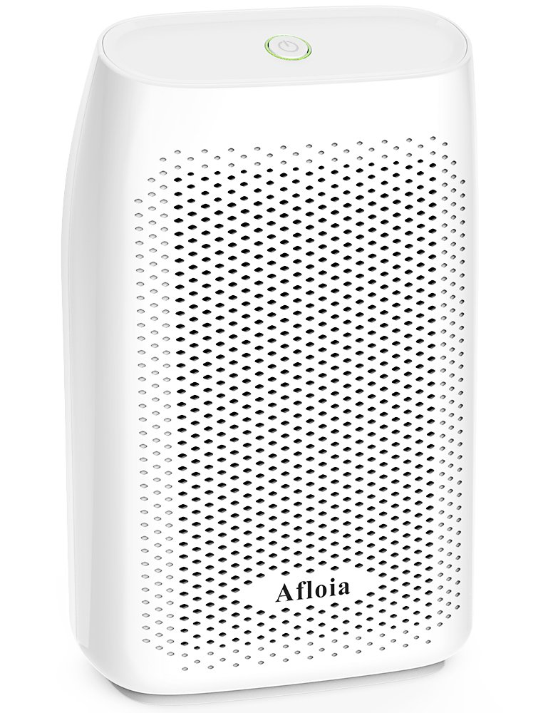 Afloia Dehumidifier for Home 700ml Electric Dehumidifier (24fl.oz) Capacity up to 220 sq ft Deshumidificador, Quiet Room Dehumidifier Portable Dehumidifier for Dorm Room, Baby Room, RV, Crawl Space