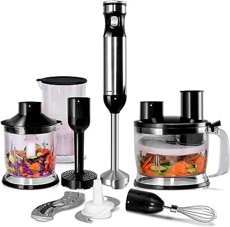 Yongtaifeng Mixeur Plongeant, Mixeur Multifonction Inox