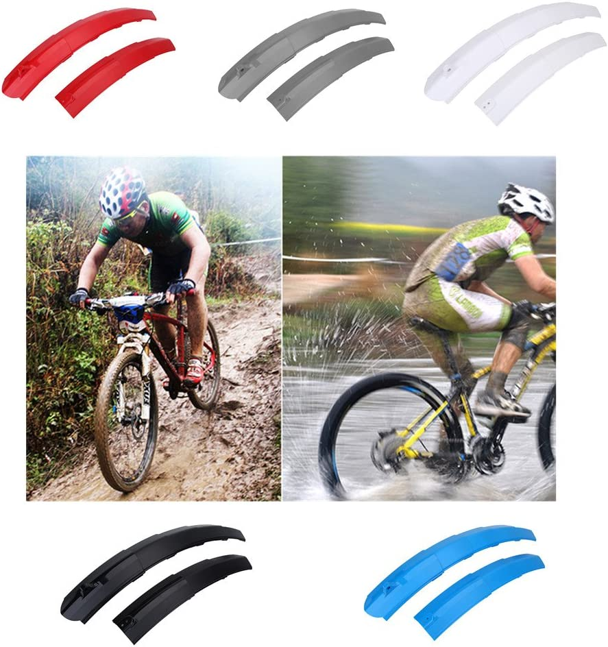 Bicycle Retractable Mudguard-super Pressure Resistant  Front//Rear Fender Set New