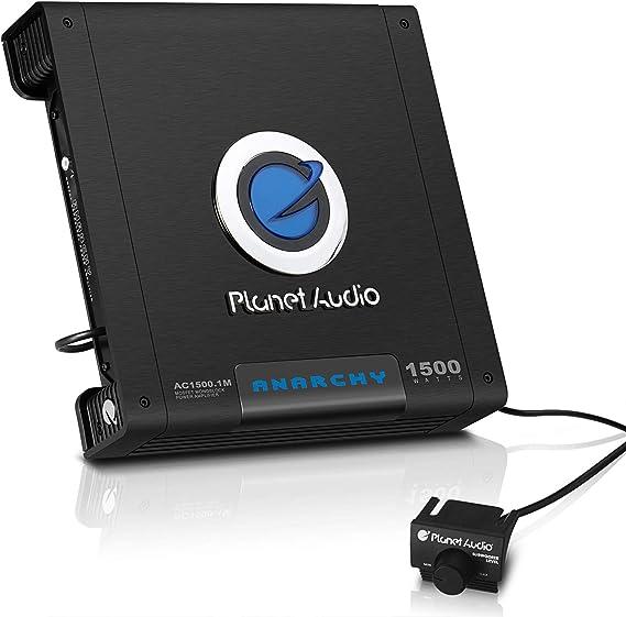Planet Audio AC1500.1M Monoblock Car Amplifier - 1500 Watts Max Power