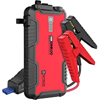 GOOLOO Jump Starter Battery Pack - 1500A Peak Water-Resistant Portable Lithium Car Booster for Up to 8.0L Gas or 6.0L…