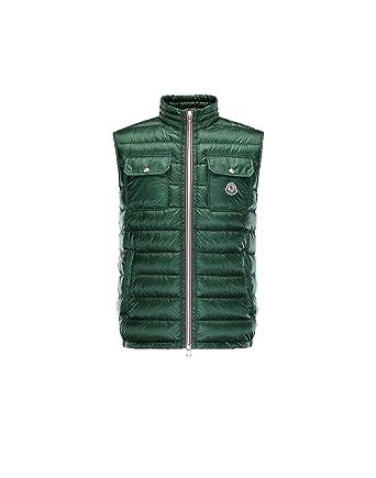 0a08bde7eaed Moncler Gilet Homme, vert - Achille  Amazon.fr  Vêtements et accessoires