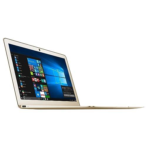 Odys Winbook 13 33,78 cm (13,3 Zoll) Ultrabook/Notebook (Intel Celeron Quad Core Prozessor N3450, 64GB Festplatte, 4GB RAM, Win 10 Home) champagne/gold (QWERTZ Tastatur)