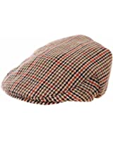 Kids Boys Girls Traditional Tweed Country Style Flat Cap Summer Winter Hat