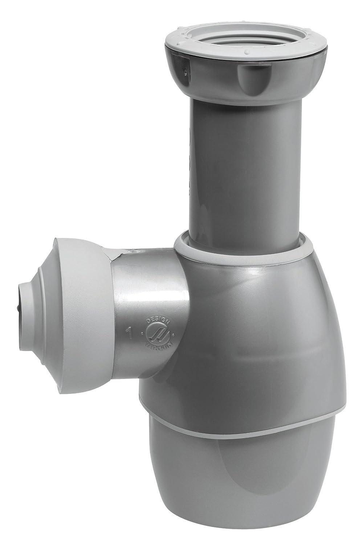 Wirquin 31180501 siphon universel pour lavabo gris métal amazon fr bricolage