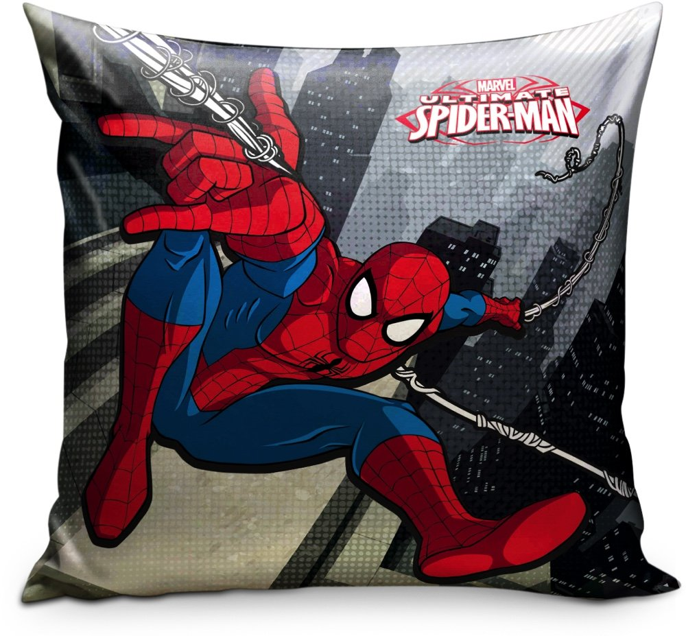 Star Licensing Marvel Spiderman Cojín, poliéster, cm. 35 x 35