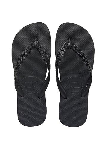 Havaianas Women's Slim Organic Sandal,Navy Blue/Silver, 35/36 BR (6 M US)