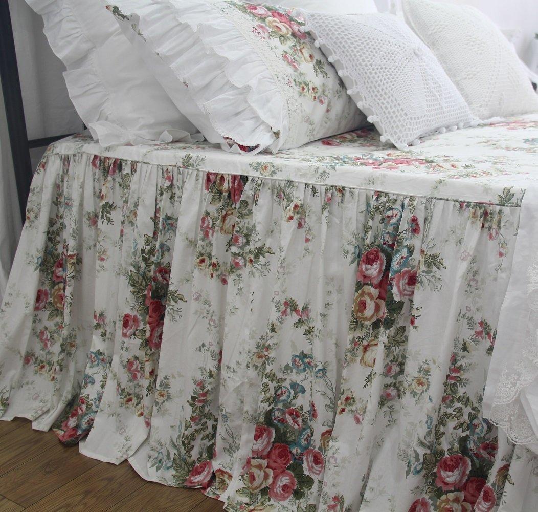 Shabby Vintage Floral Bed Coverlets Bedspreads