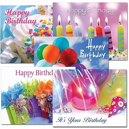 Tarjetas postales: cumpleaños surtido I, caja de 60 tarjetas ...