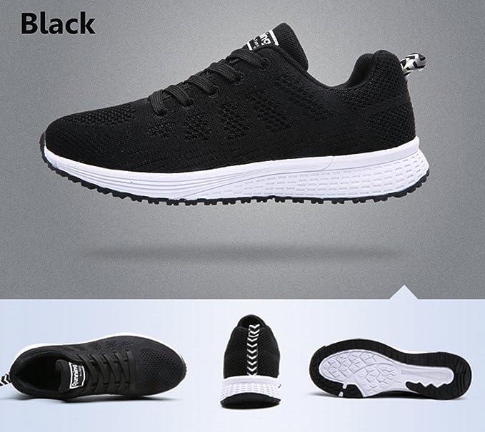 Amazon.com: Kotzeb Women Running Tennis Shoes Fitness Gym Jogging Comfortable Sports for Girls Students Black Blue Grey White 35-44: Sports & Outdoors