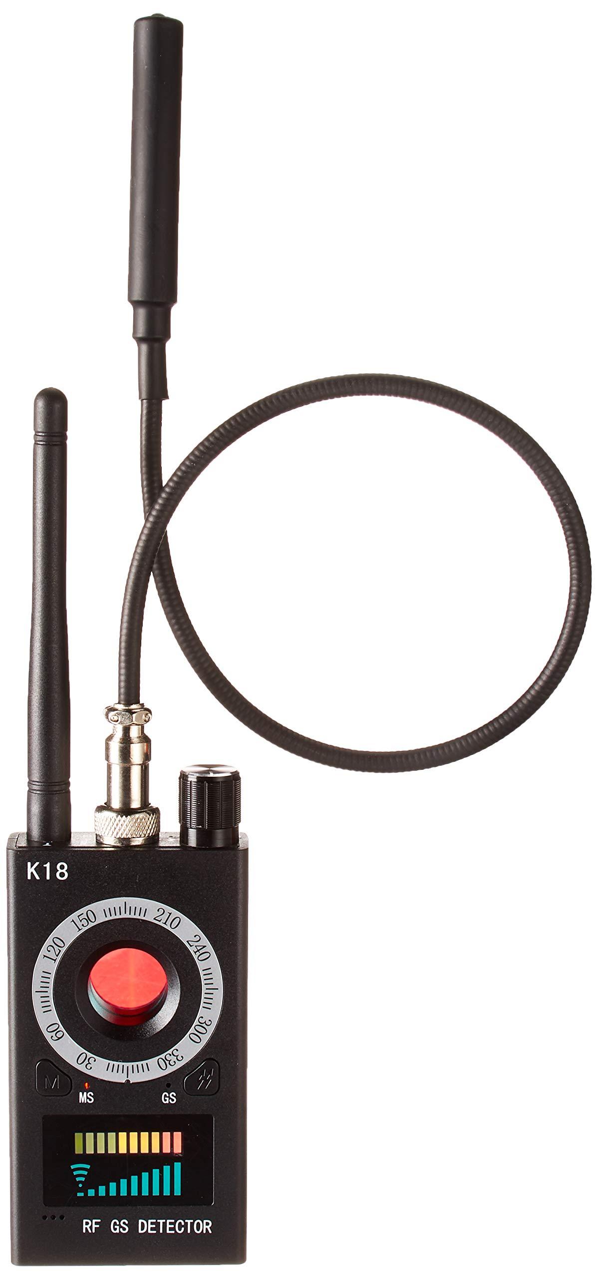 Anti Spy Camera Detector, Rf Signal Bug Detector, Wireless Signal Pinhole Laser Lens, GSM Listening Device Finder Radar Radio Scanner Wireless Signal Alarm by Miebul