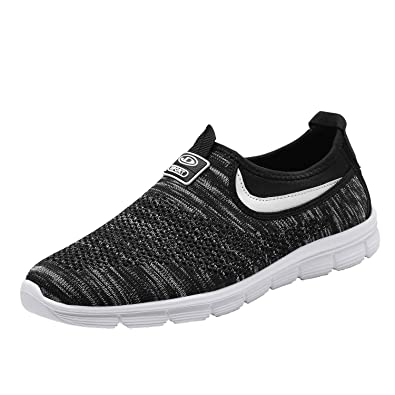 sports shoes e5ba8 8f147 Socviis Mens Casual Athletic Sneakers Comfort Running Shoes Slip On Shoe  for Men Walking Working Tennis Aerobics Gym
