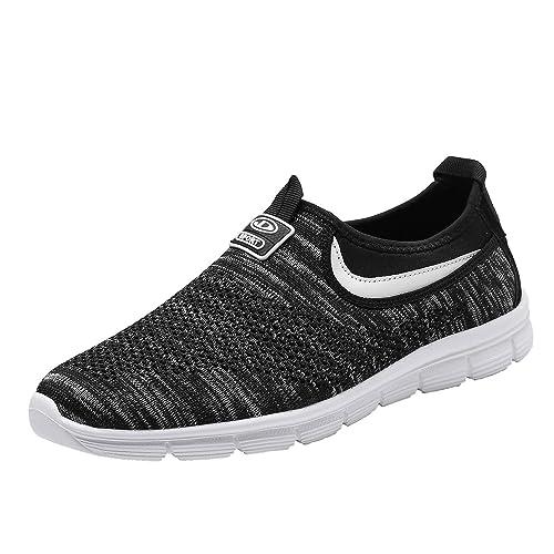 07c8c2894d Socviis Mens Casual Athletic Sneakers Comfort Running Shoes Slip On Shoe  for Men Walking Working Tennis