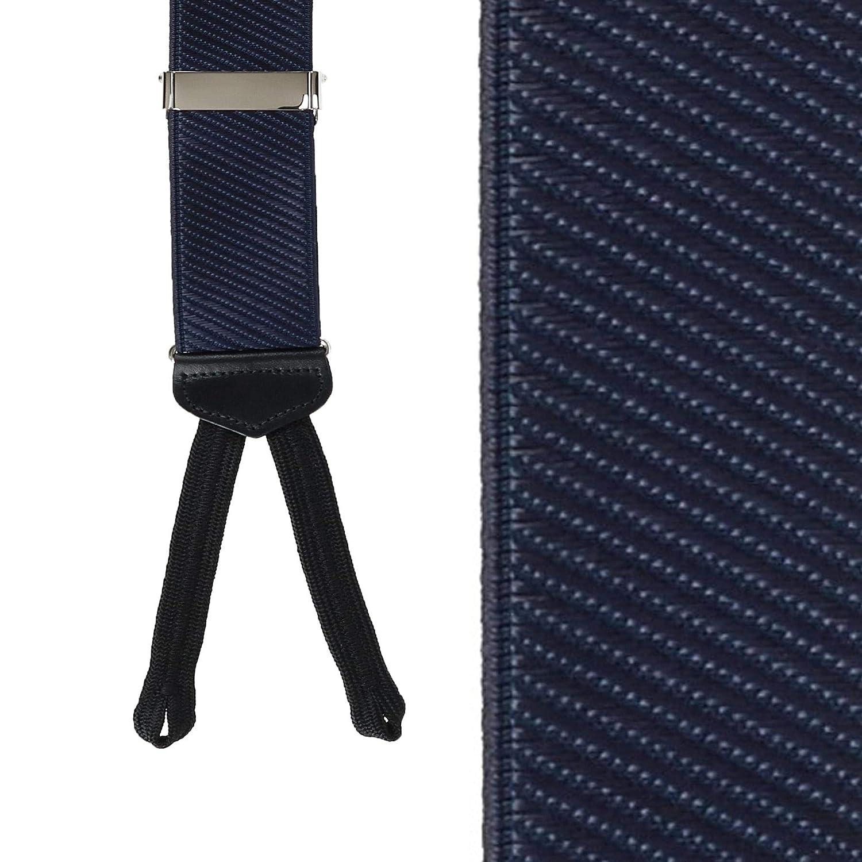 Red Adjustable Fashion Accessories CrookhornDavis Suspenders for Men Diagonal