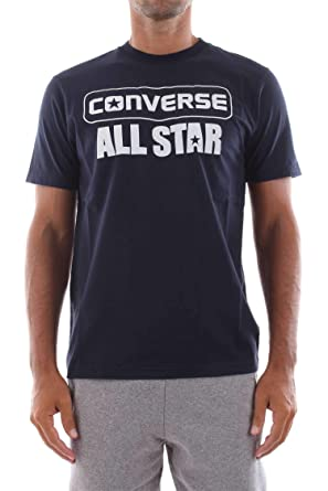 really comfortable official price wide range Converse 10008832 SS Crew T-Shirt Men: Amazon.co.uk: Clothing