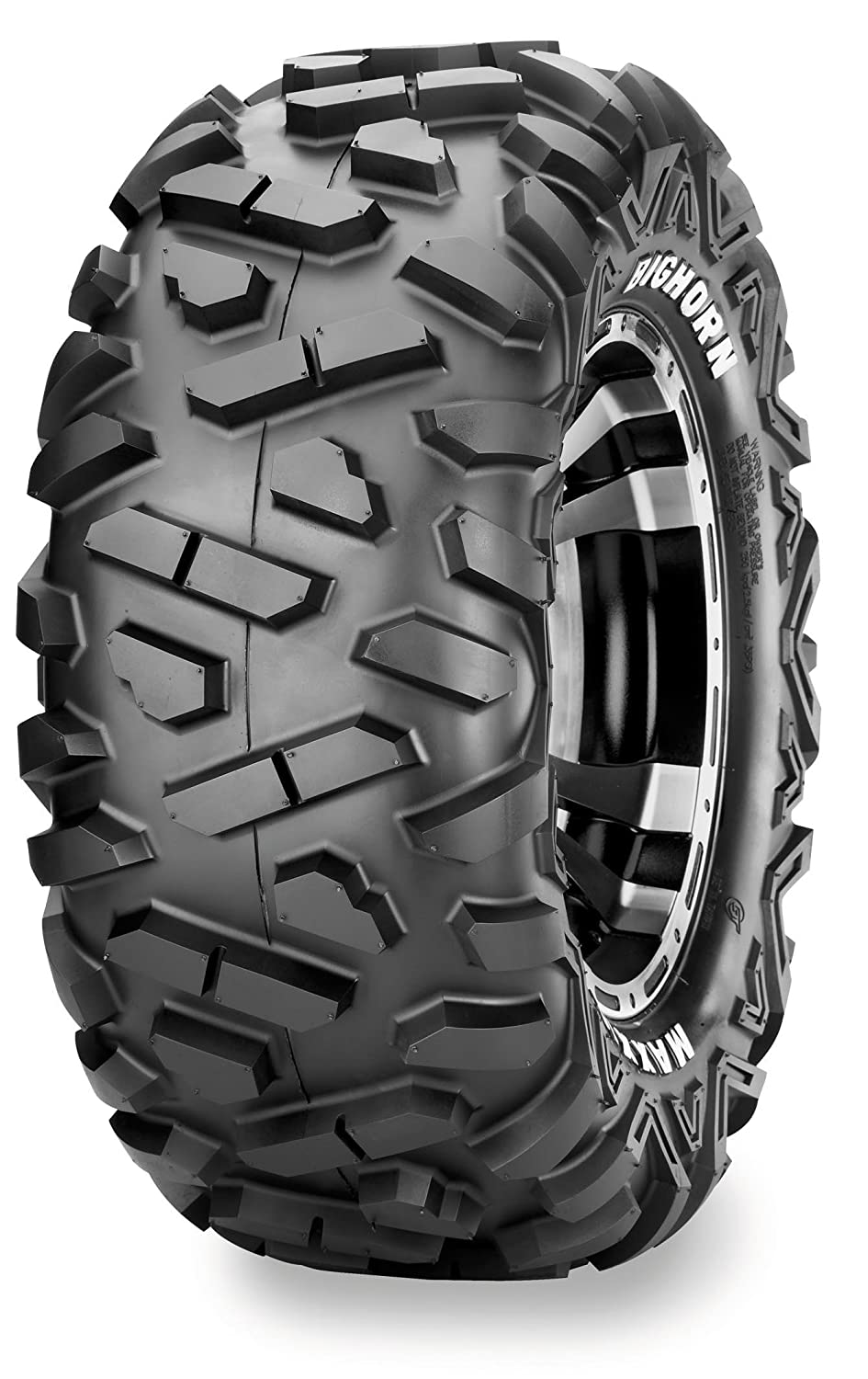 Maxxis M918 Bighorn Tire - Rear - 28x10Rx14 , Position: Rear, Rim Size: 14, Tire Application: All-Terrain, Tire Size: 28x10x14, Tire Type: ATV/UTV, Tire Construction: Radial, Tire Ply: 6