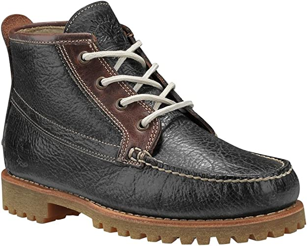 Timberland Authentics Chukka pour Homme, Marron (Dark Grey