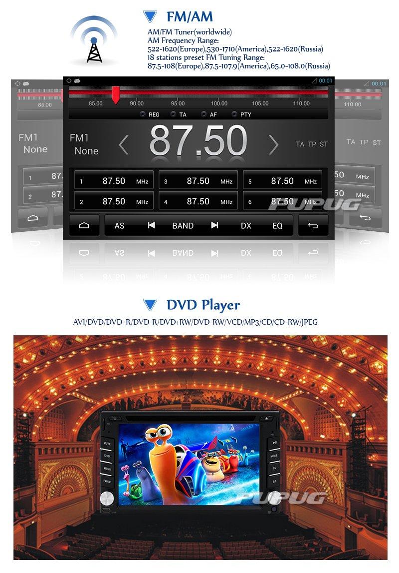 Android 4.2 6,2 Pulgadas de Coches Reproductor de DVD GPS de ...