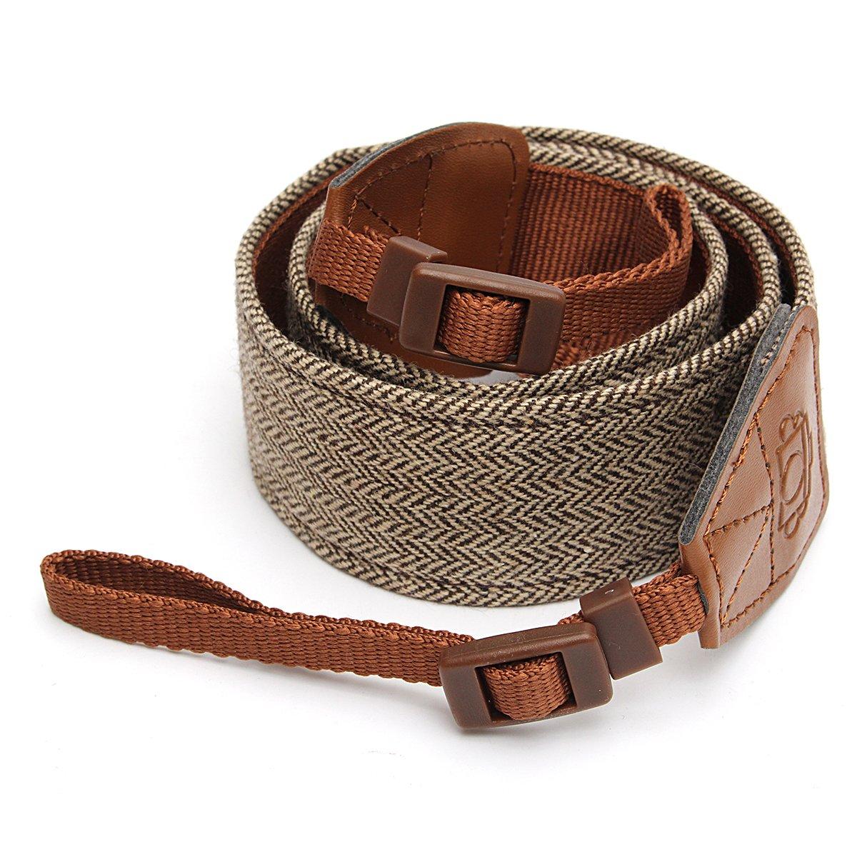 Universal cuello de hombro Cámara Vintage correa cinturón para ...