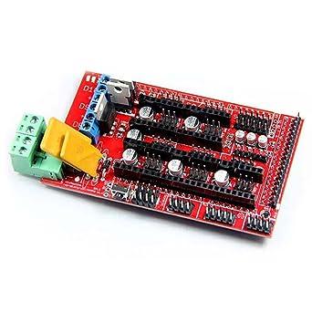 SODIAL(R) Controlador impresora 3D para RAMPS 1.4 Reprap Mendel ...