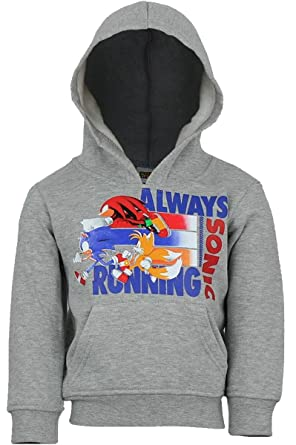 Boys Sonic The Hedgehog Game Over Sweatshirt Jumper Sweater Top