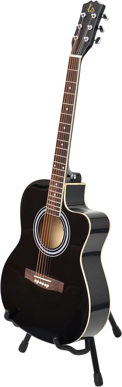 ts-ideen Western - Guitarra acústica, calidad estándar, tamaño ...