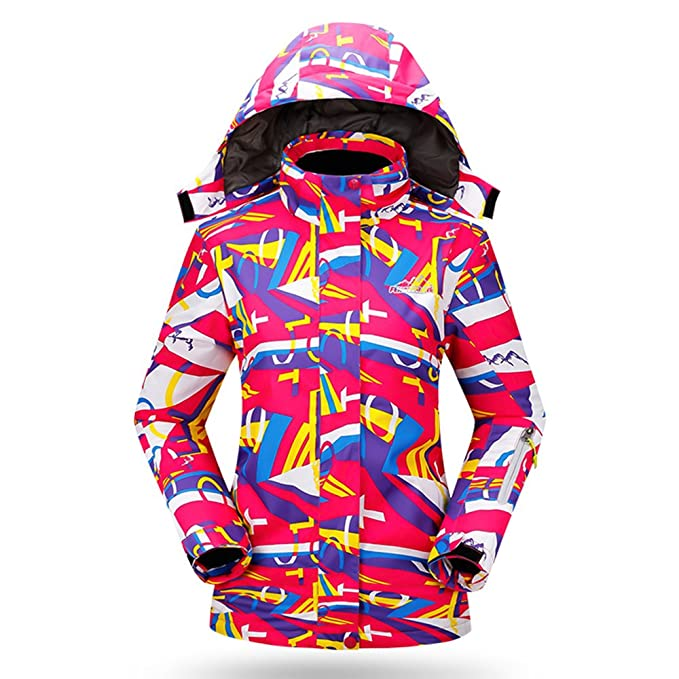 Snow-Wolf New Women Winter Warm Windproof Waterproof Breathable Ski Suit  Jacket (S ( 33c0b915d