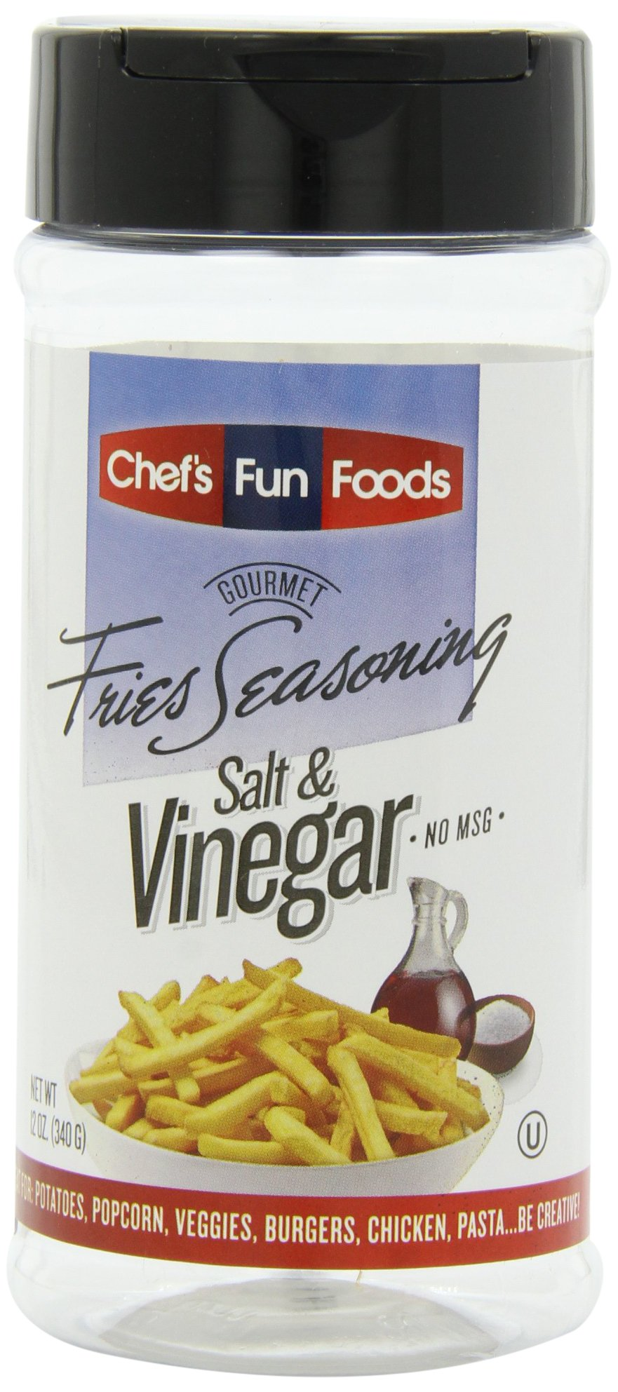 Gourmet Fries Seasonings Salt and Vinegar, 2 Pound
