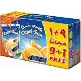 Capri Sun Orange (9+1)Promo - Pack of 10 x 200 ml