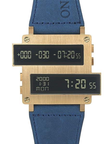 Tomoro diseño único Cool de piel hombres reloj Digital LED de cuenta regresiva Horas de acero inoxidable reloj de regalo: TOMORO: Amazon.es: Relojes