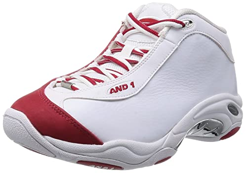 AND 1 Men's TAI CHI MID Basketball Shoes Off White Size: 12