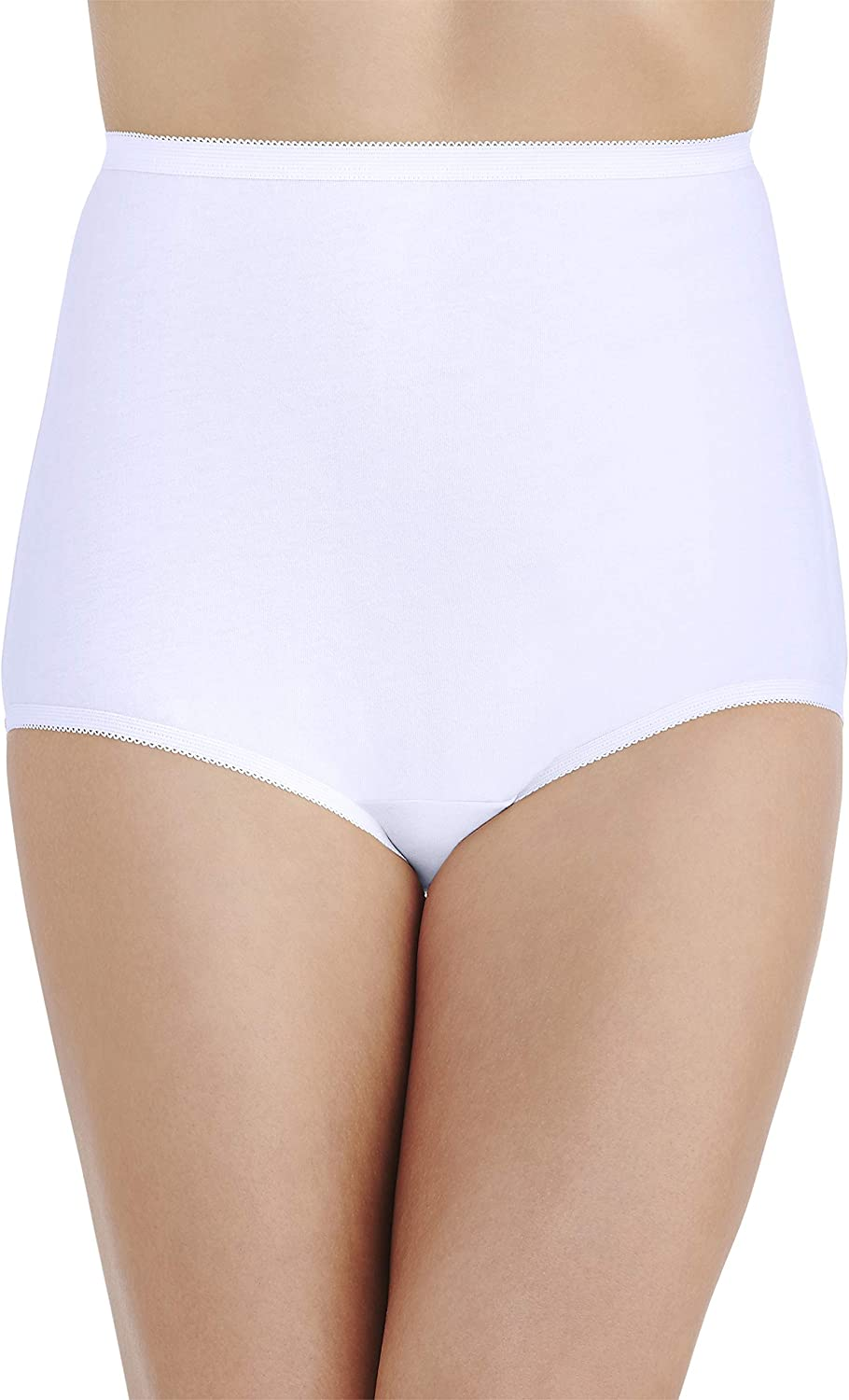 Vanity Fair Women's Underwear Perfectly Yours Traditional Cotton Brief Panties at  Women's Clothing store