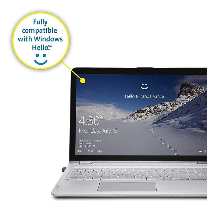 Kensington VeriMark USB Fingerprint Key Reader - Windows Hello, FIDO U2F,  Anti-Spoofing (K67977WW)