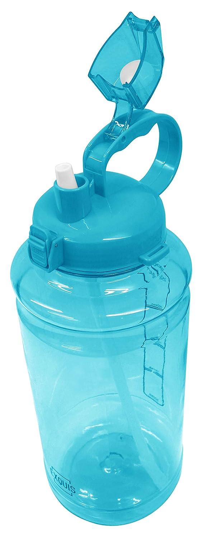 GHP Tritan Outdoor Wasser Flasche mit Tragegriff & Pop-up Stroh