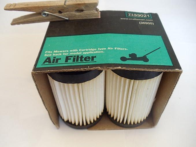 10-Pack de New Genuine Original Equipment Manufacturer Tecumseh Filtre à air 35066 pas Aftermarket
